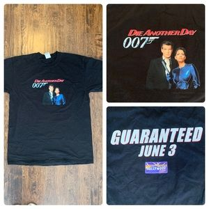 VTG 2002 007 Die Another Day Promo Shirt